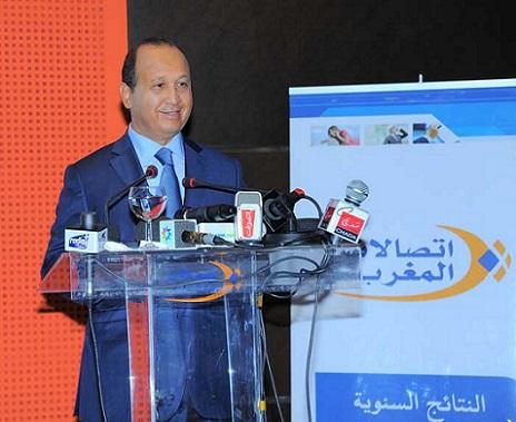اتصالات المغرب تسجل ارتفاع النتيجة الصافية لحصة المجموعة إلى متم شتنبر الماضي