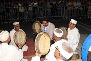الفنان خوختو مع فرقة أحواش