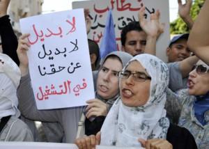 الشباب المغربي عاطل