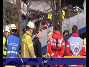 مصرع 8 أشخاص في حادث تصادم قطارين