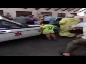 هاعلاش تم منع سيارة إسعاف من نقل مريض
