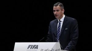 during the Extraordinary FIFA Congress at Hallenstadion on February 26, 2016 in Zurich, Switzerland.