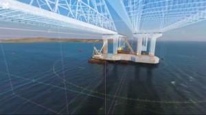 بتقنية الـ 360 درجة… جسر كيرتش في القرم