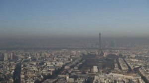 موجة تلوث كبيرة يباريس
