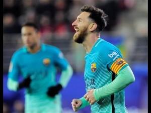 اهداف مباراة برشلونة 2-1 اتلتيكو مدريد