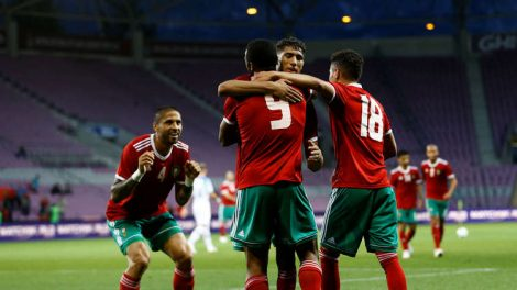 المنتخب المغربي يفوز الكاميرون بهدفين للاشيء وينتزع صدارة المجموعة