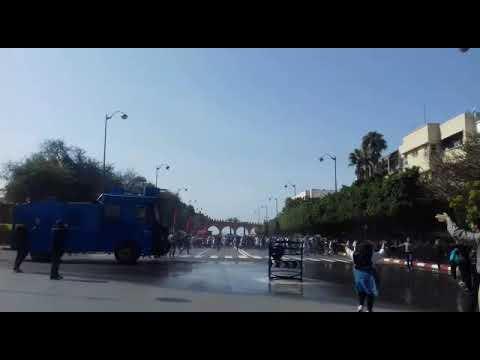 مديرية الأمن الوطني تكشف أسباب تدخلها لتفريق مسيرة بالرباط