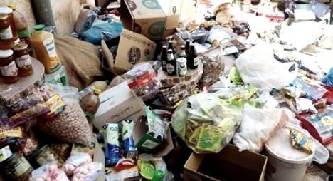 ONSSA :حجز وإتلاف 830 طنا من المنتجات الغذائية الفاسدة