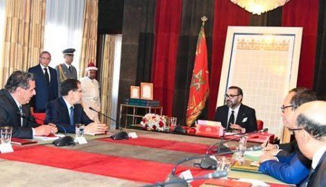 الملك محمد السادس يترأس جلسة عمل خصصت لإشكالية الماء