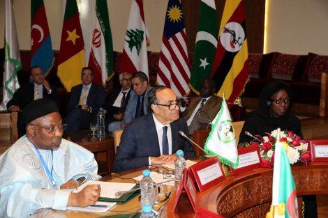 المالكي يستعرض بالرباط الخطوط العريضة لخطة عمل اتحاد مجالس الدول الأعضاء في منظمة التعاون الإسلامي
