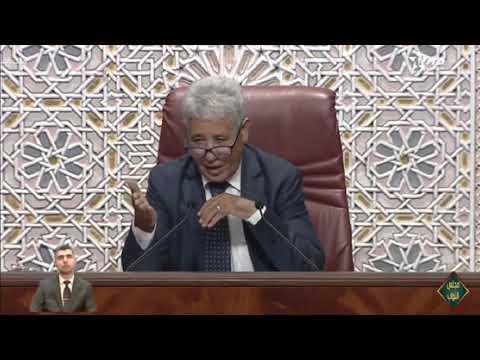 ارتباك الوزير عبيابة في البرلمان
