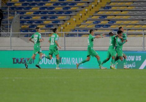 الرجاء البيضاوي صدارة الترتيب من جديد بعد فوزه على حسنية أكادير