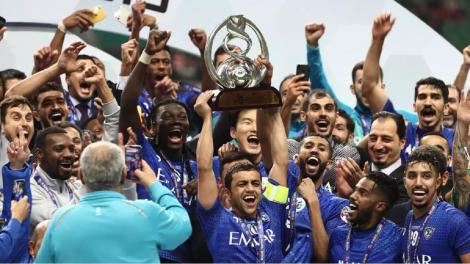 تتويج الهلال السعودي بلقب كأس الملك لكرة القدم